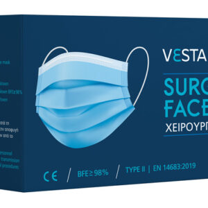 VESTAMED χειρουργική μάσκα 3 στρωμάτων